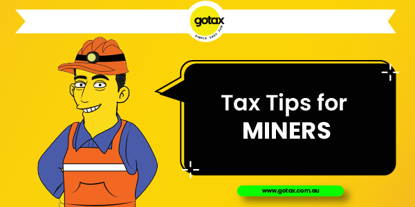 Online Tax Returns for Miners