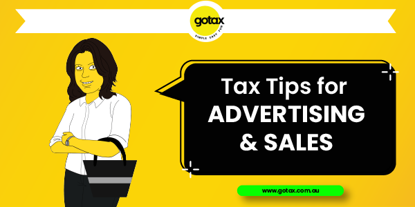 Online Tax Returns for Advertisers