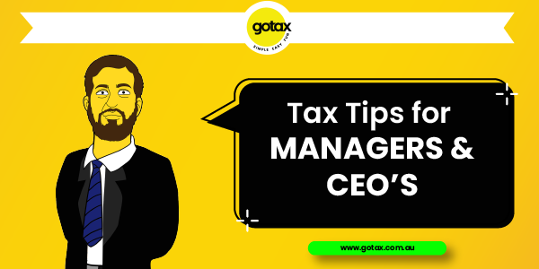 Online Tax Returns for Managers & CEO's