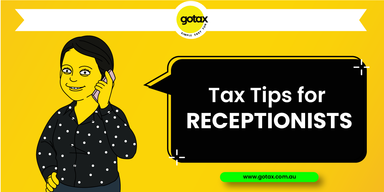 Online Tax for Receptionists